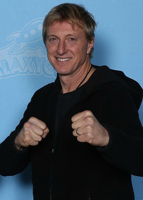 William Zabka at GalaxyCon Minneapolis in 2019