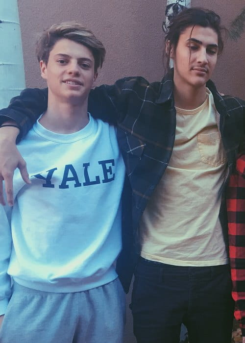 Xander Norman (Right) and Jace Norman as seen in November 2017