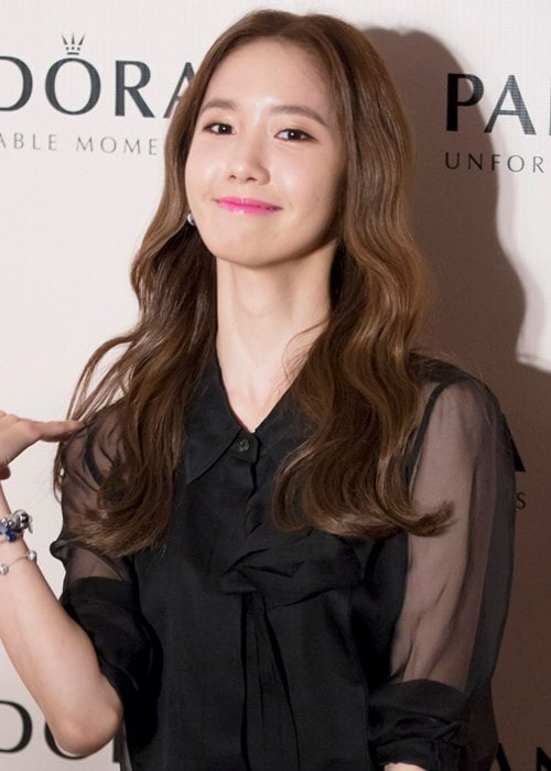 Yoona at the Pandora Gala Dinner in September 2014