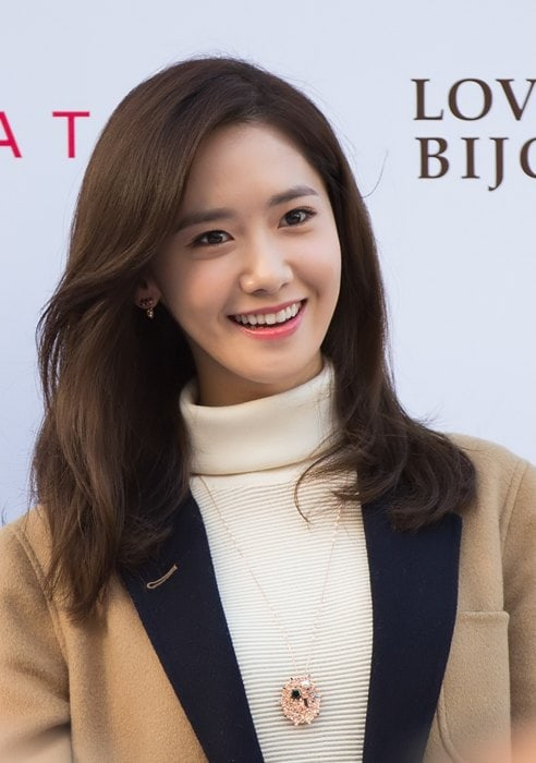 Yoona during an event in October 2015