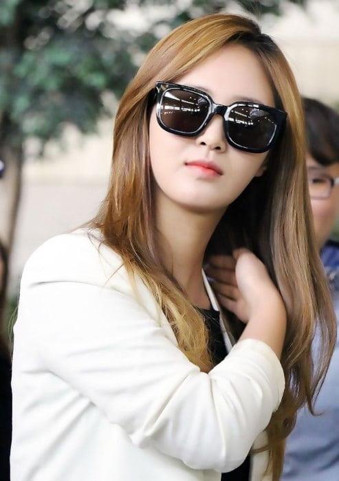 Yuri at Gimpo International Airport in April 2015