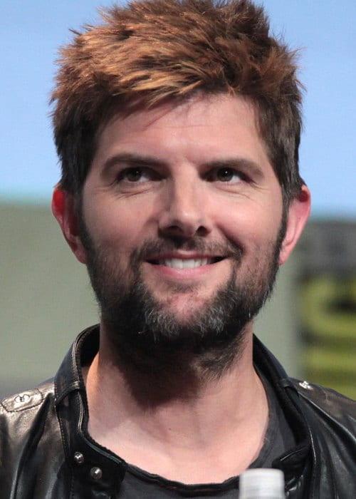 Adam Scott at the 2015 San Diego Comic Con International