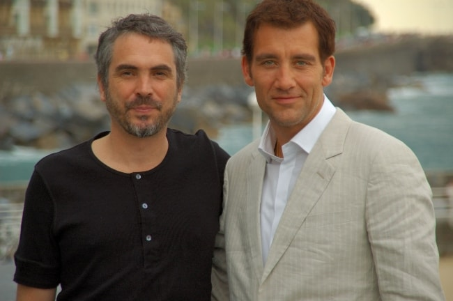 Alfonso Cuarón (Left) with Clive Owen in September 2005