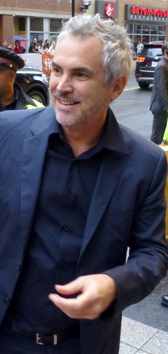 Alfonso Cuarón at the 2015 Toronto Film Festival for the premiere of 'Desierto'
