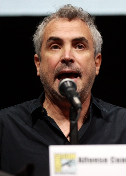 Alfonso Cuarón speaking at the 2013 San Diego Comic-Con International