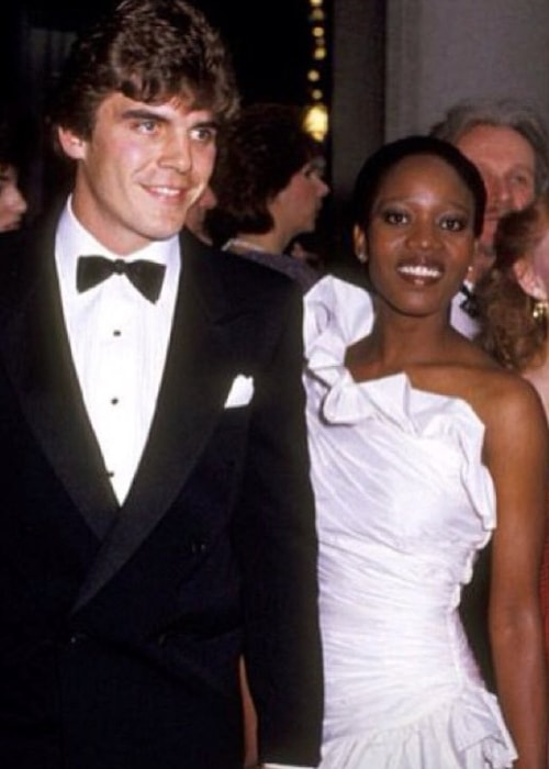 Alfre Woodard with Roderick Spencer