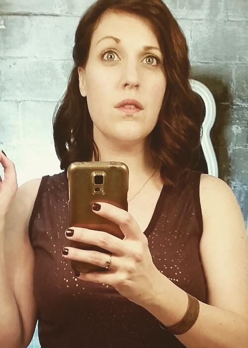 Allison Tolman in an Instagram selfie as seen in May 2017