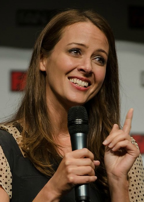 Amy Acker at the 2015 Fan Expo Canada in Toronto
