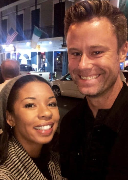 Angel Parker and Eric Nenninger as seen in November 2018