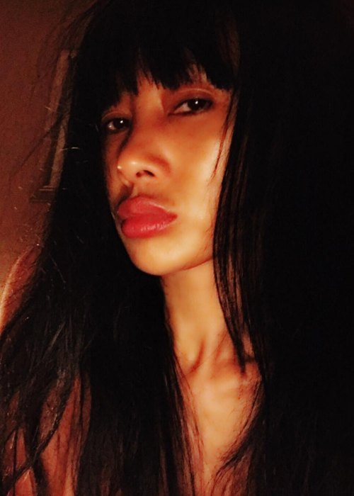 Bai Ling in an Instagram selfie as seen in October 2018