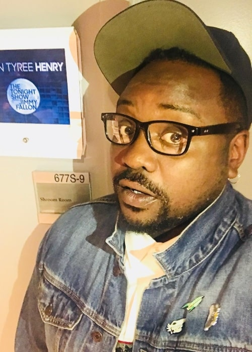 Brian Tyree Henry in a selfie in September 2018