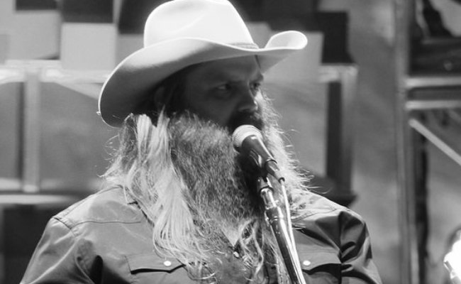 Chris Stapleton during a performance as seen in May 2017