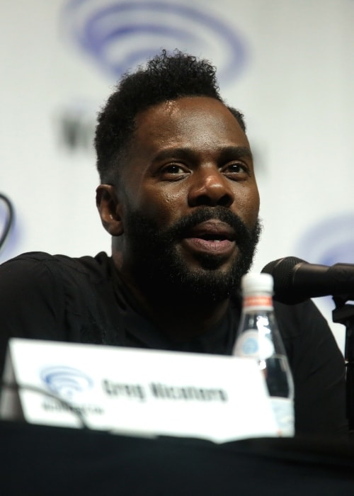 Colman Domingo as seen while speaking at the 2018 WonderCon in Anaheim, California
