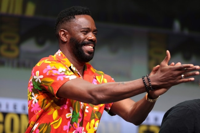 Colman Domingo at the 2017 San Diego Comic-Con International