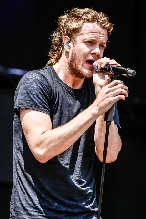 Dan Reynolds as seen while performing at Rock im Park 2013 as a member of 'Imagine Dragons'