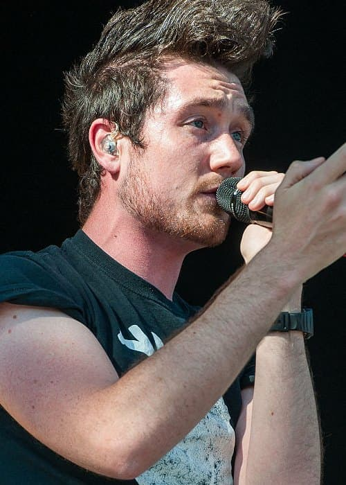 Dan Smith during a performance in June 2015