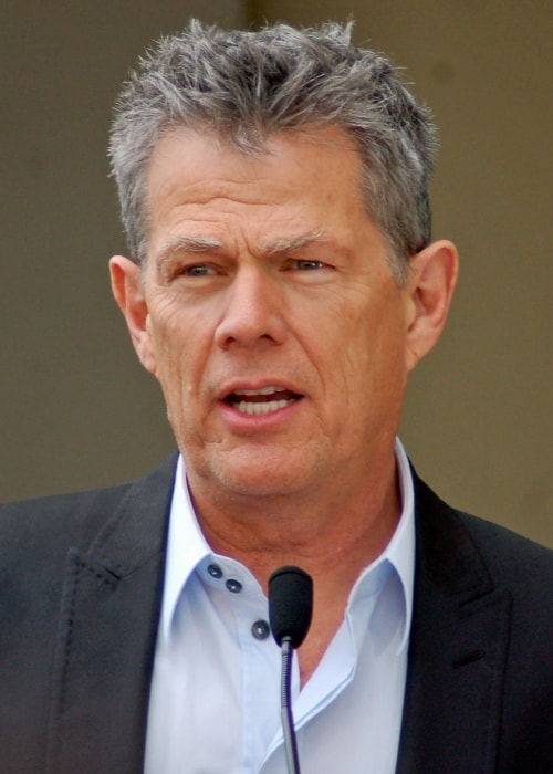 David Foster as seen while speaking at a ceremony organized to honor Andrea Bocelli with a star on the Hollywood Walk of Fame in March 2010