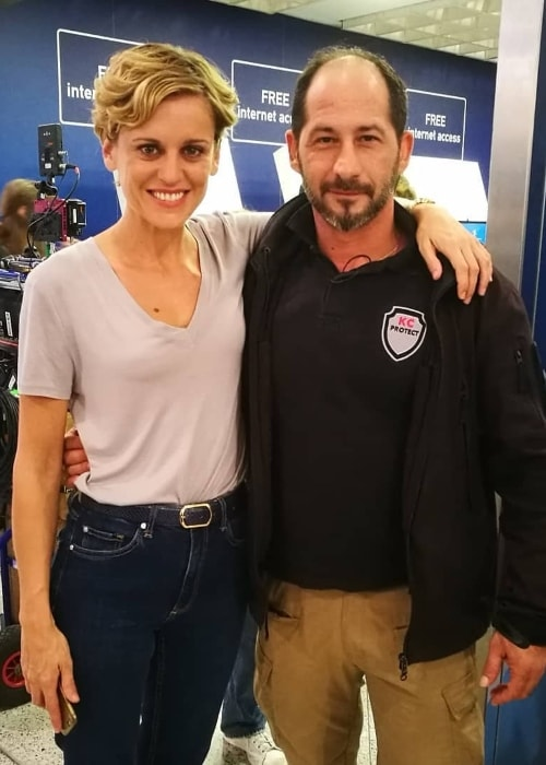 Denise Gough posing with her beautiful smile