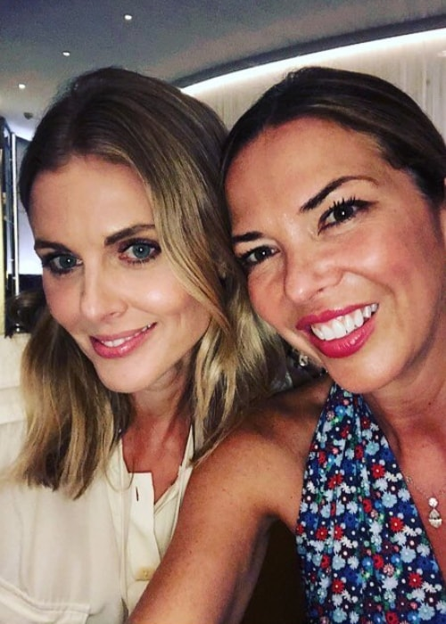 Donna Air (Left) in a selfie with Heather Kerzner in July 2018