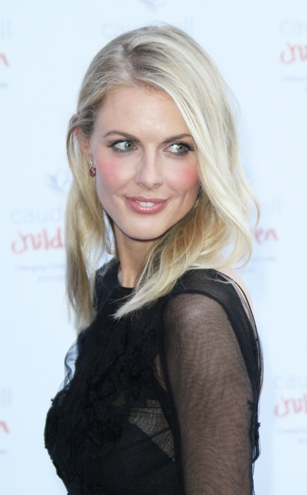 Donna Air as seen at the 2013 Butterfly Ball A Sensory Experience at the Battersea Evolution in London, UK