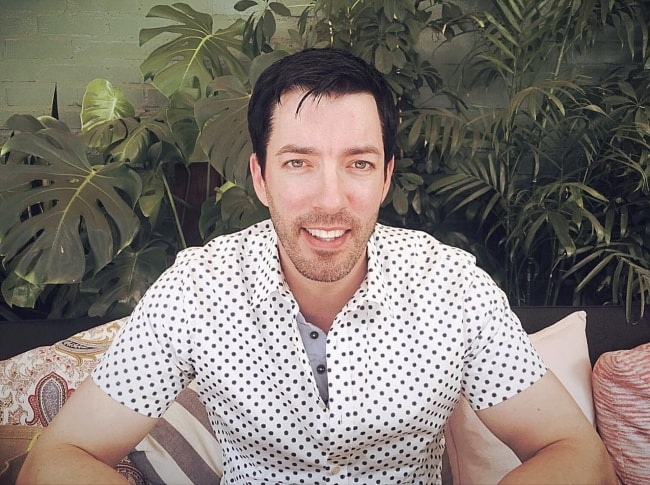 Drew Scott as seen in November 2018