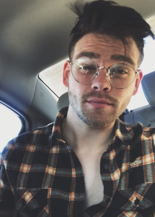 Elijah Daniel in an Instagram selfie as seen in September 2017