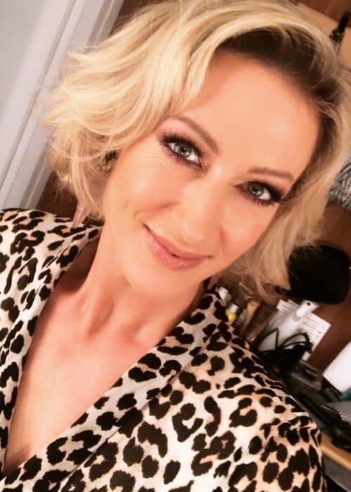 Faye Tozer in an Instagram selfie as seen in December 2018