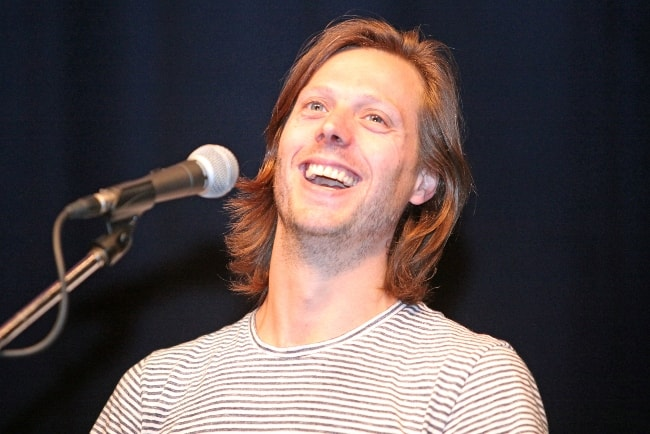 Felix Van Groeningen at the International Film Festival in Karlovy Vary in July 2016
