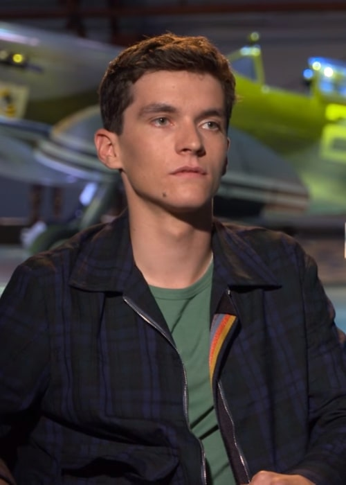 Fionn Whitehead during an interview