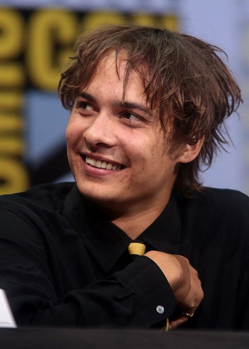 Frank Dillane speaking at the 2017 San Diego Comic Con International