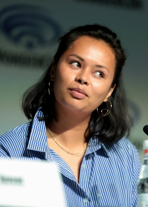 Frankie Adams as seen at the 2018 WonderCon for 'The Expanse'