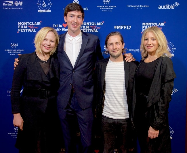 From Left to Right - Adelaide Clemens, Nicholas Braun, Michael Angarano, and Ari Graynor