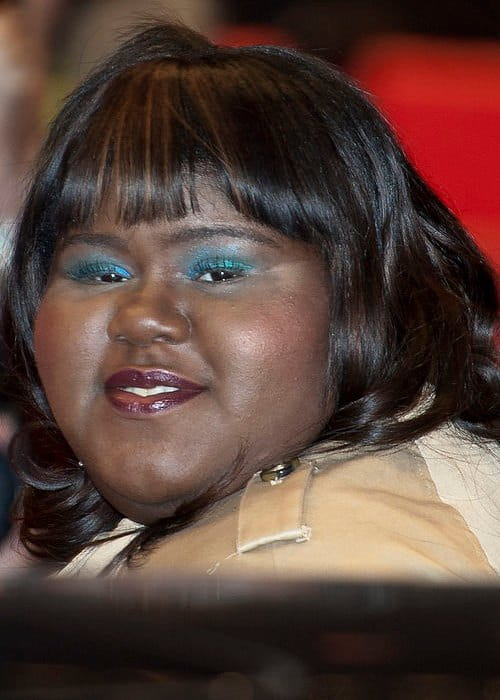 Gabourey Sidibe at the premiere of her film Yelling To The Sky in February 2011