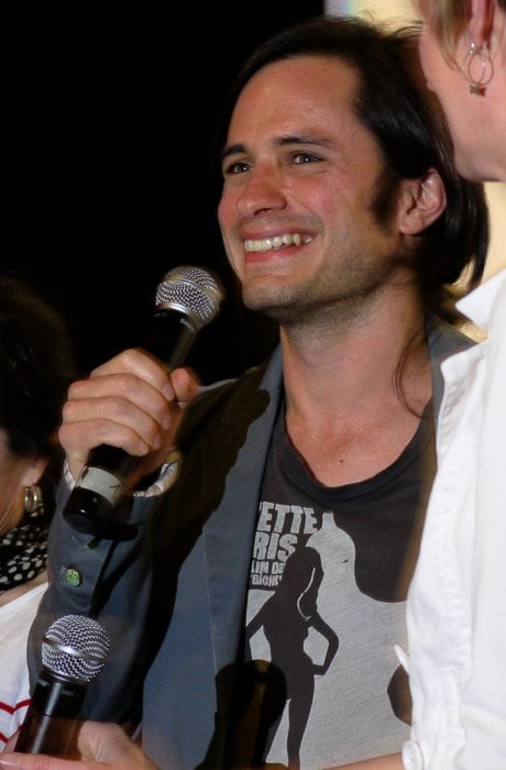 Gael García Bernal during an event in July 2011