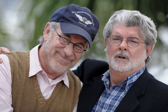 George Lucas (Right) with Steven Speilberg
