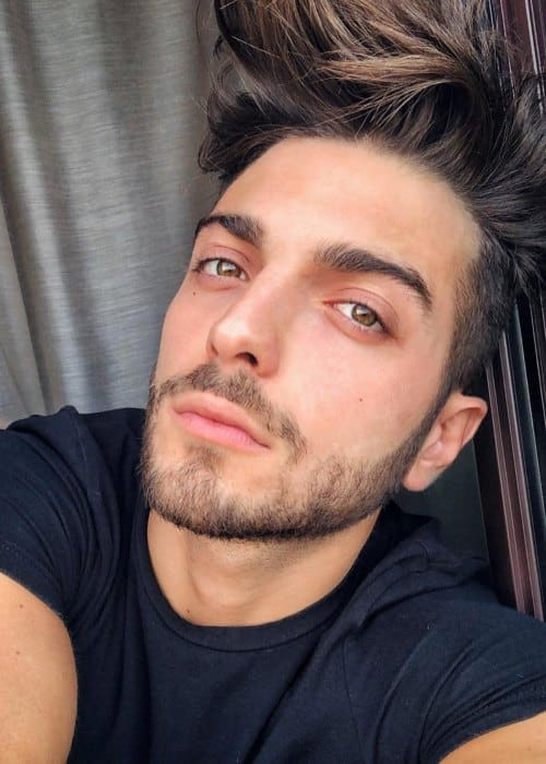 Gianluca Ginoble in an Instagram selfie as seen in October 2018