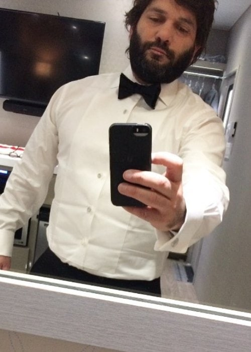 Guillermo Díaz in an Instagram selfie as seen in April 2017