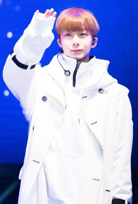 Hyungwon as seen in October 2016