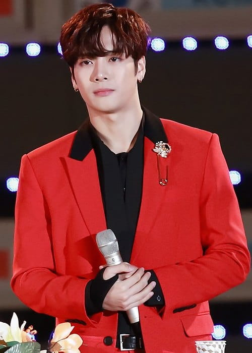 Jackson Wang as seen in October 2017