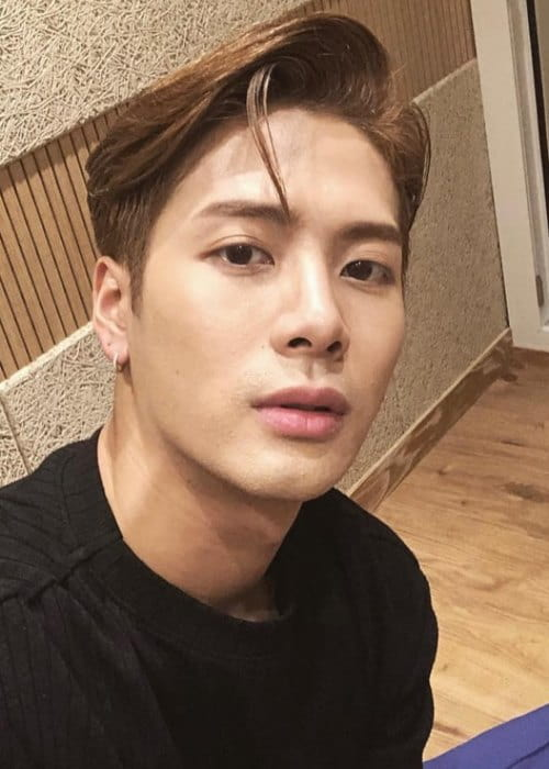 Jackson Wang in an Instagram selfie as seen in September 2018