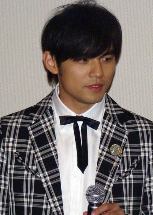 Jay Chou at the premiere of Secret in Seoul as seen in January 2008