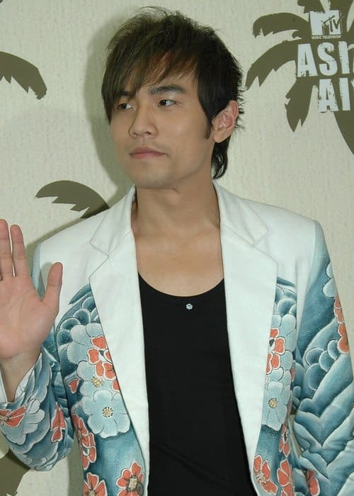 Jay Chou during an event in 2005