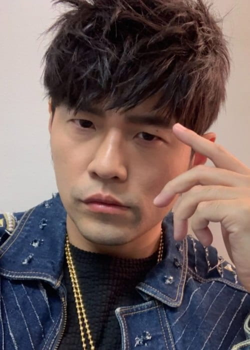Jay Chou in an Instagram selfie as seen in November 2018