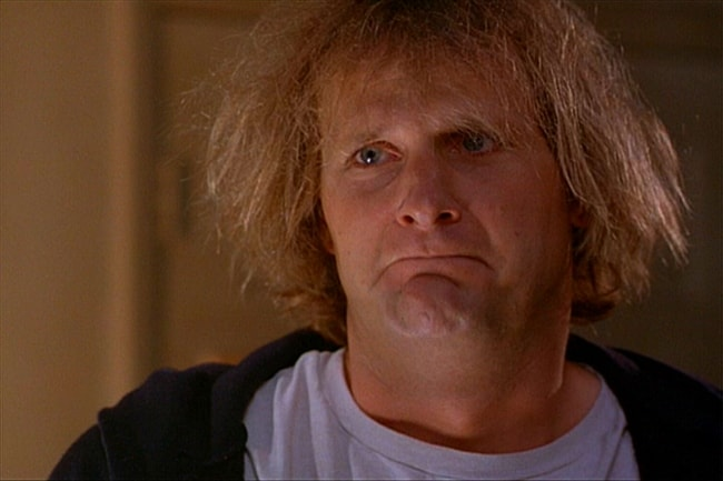 Jeff Daniels in a still from the movie 'Dumb and Dumber'