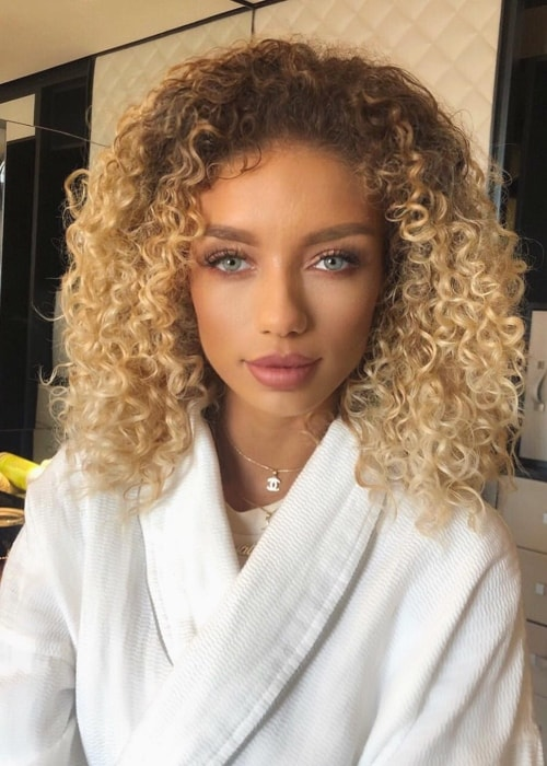 Jena Frumes at W London - Leicester Square in September 2018