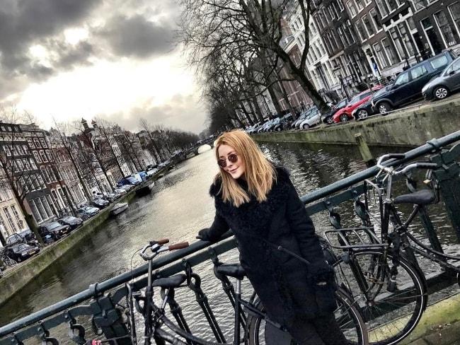 Jennifer Finnigan in Amsterdam in January 2017