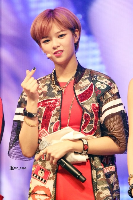 Jeongyeon as seen in October 2015