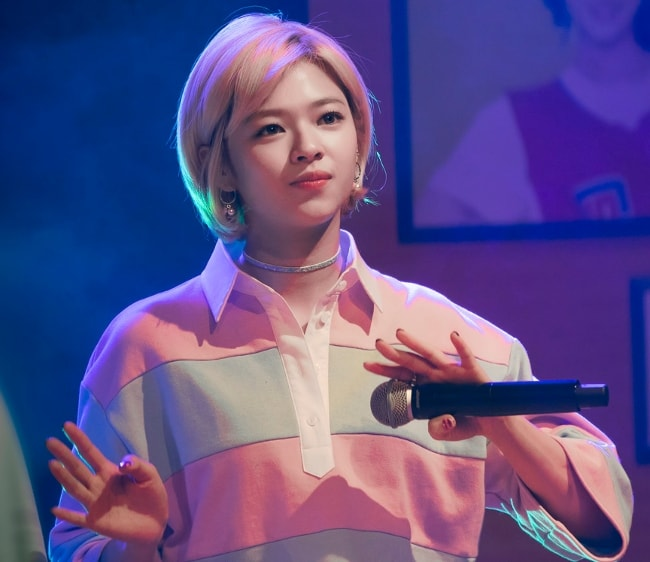 Jeongyeon at Twice Sudden Attack Fan Meeting in March 2017