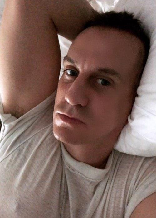 Jeremy Scott in a selfie in May 2018