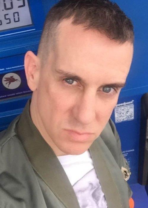 Jeremy Scott in an Instagram selfie as seen in April 2018
